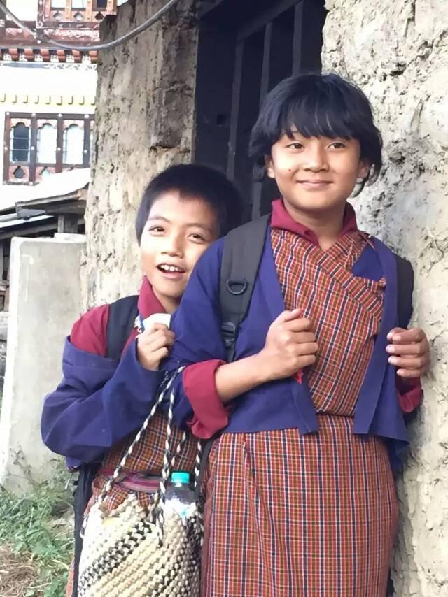 不丹王国的国王和王妃