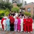 深圳市武术协会郭副会长到大岭指导太极拳运动