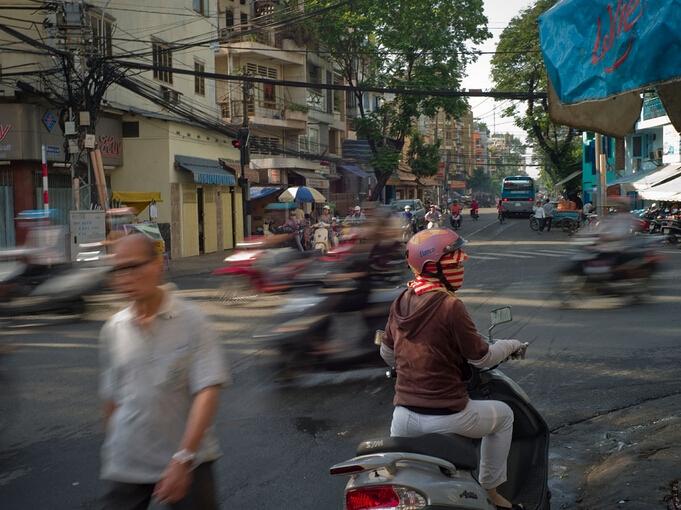 深坛摄影月赛一月主题:早晨八点的深圳