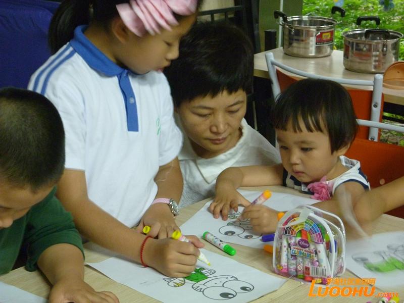 区开展第五节 绘本美术课 小组