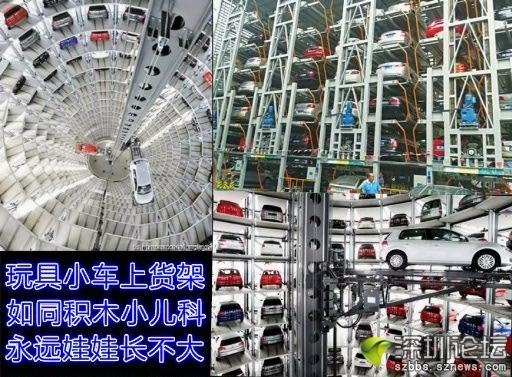 沙盘模型技术结构立体停车场