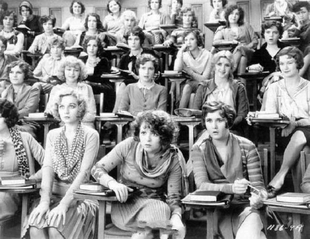 1929年开始上的两性教育课程。
