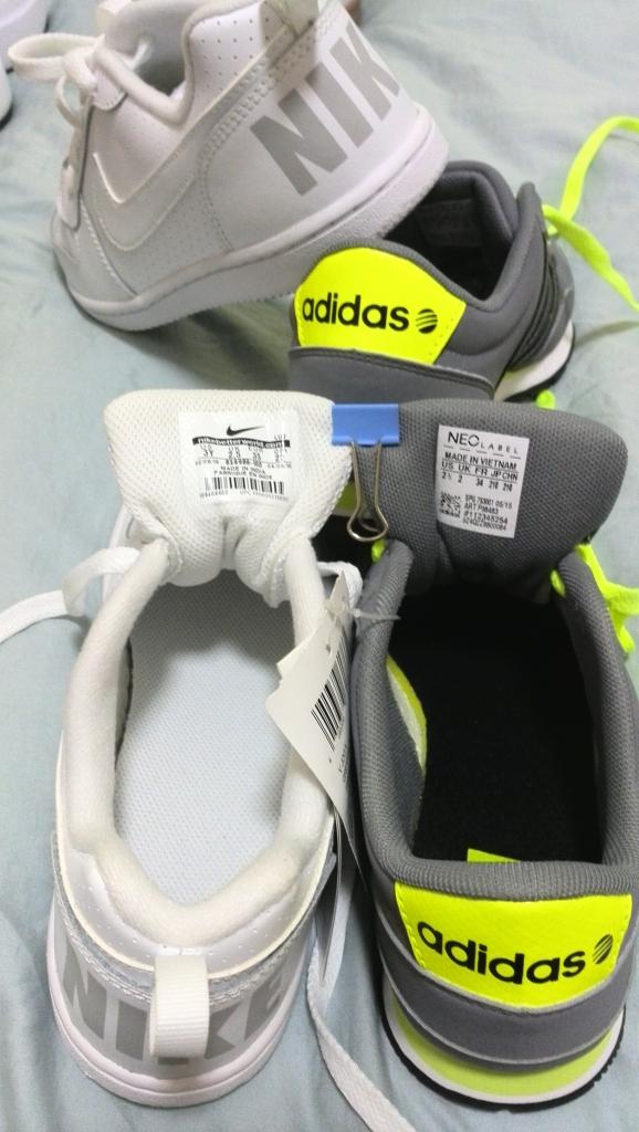 进口德国购品牌鞋--NIKE,ADIDAS,等