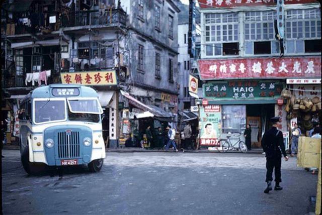 香港仔大道湖南街交界