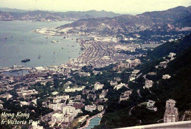 山頂俯瞰香港島