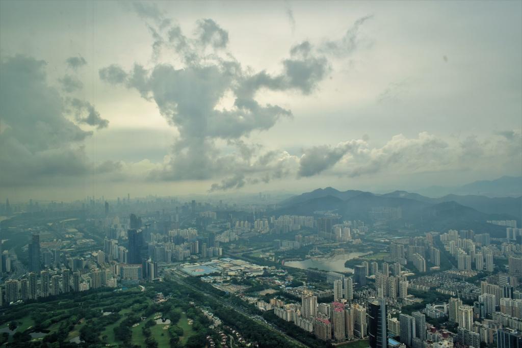 七月拍摄主题——鸟瞰深圳