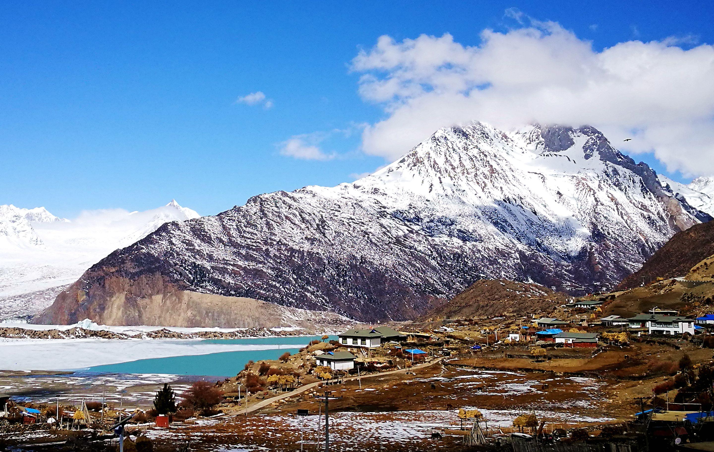 川藏线—来古村与来古冰川
