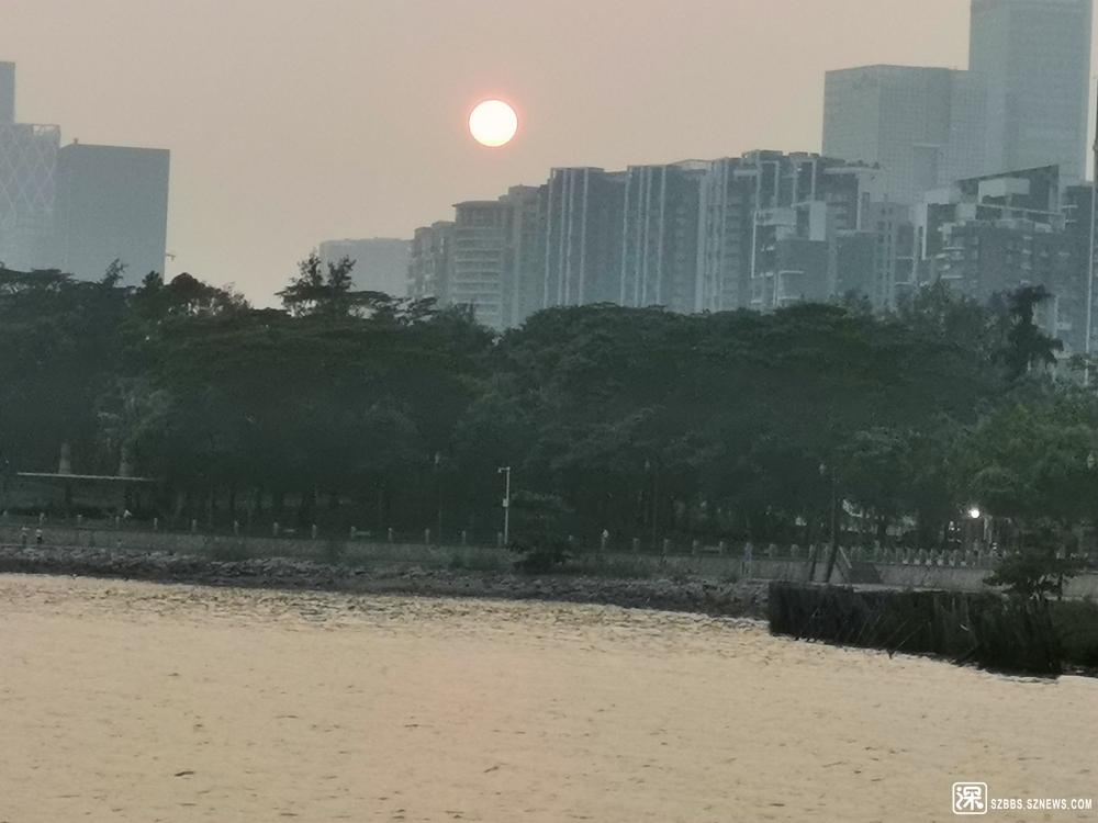 """台风""""利奇马""""深圳湾夕霞20190809_835.jpg"""