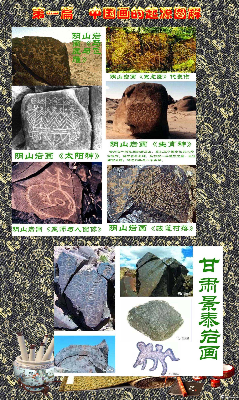 2 第一篇  中国画的起源图解  内蒙古、甘肃岩画  2.jpg