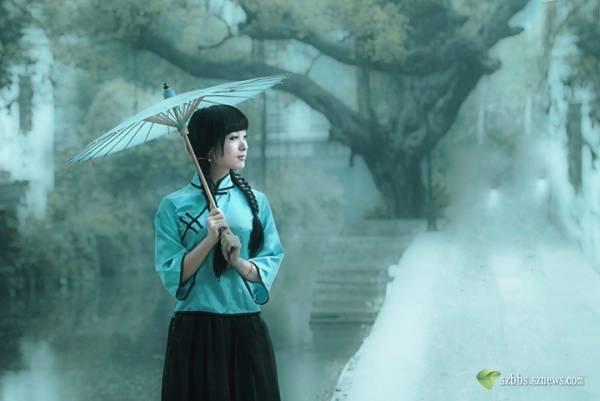 4595,相思常牵雨巷情(原创) - 春风化雨 - 春风化雨的博客