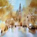 上海水彩画家作品欣赏