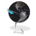 上悬浮地球仪