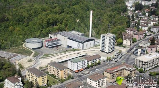 瑞士洛桑垃圾焚烧厂