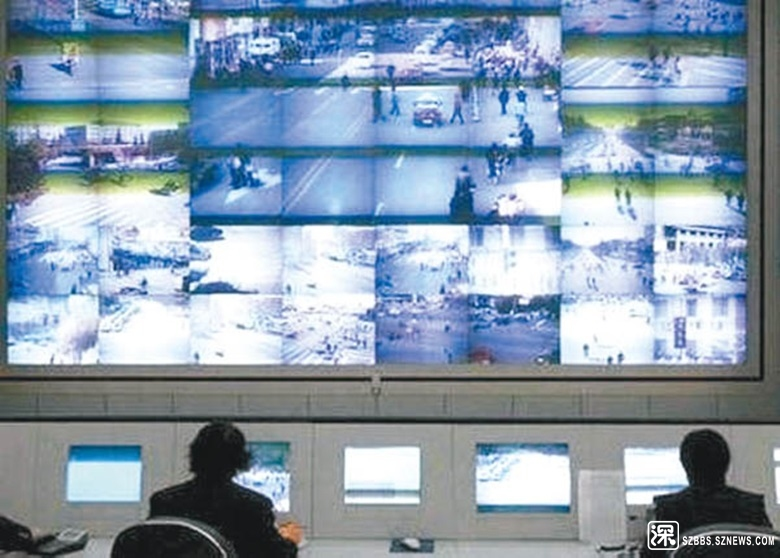 深圳警方利用閉錄電視破案,已佔刑事案件破案總數的50%。
