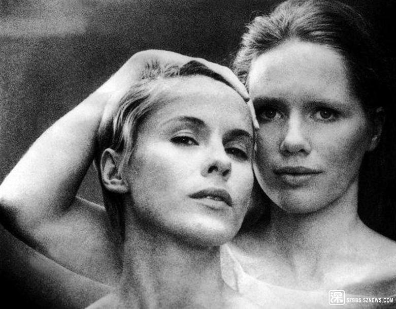 Bibi(左)憑《假面》獲瑞典影后。