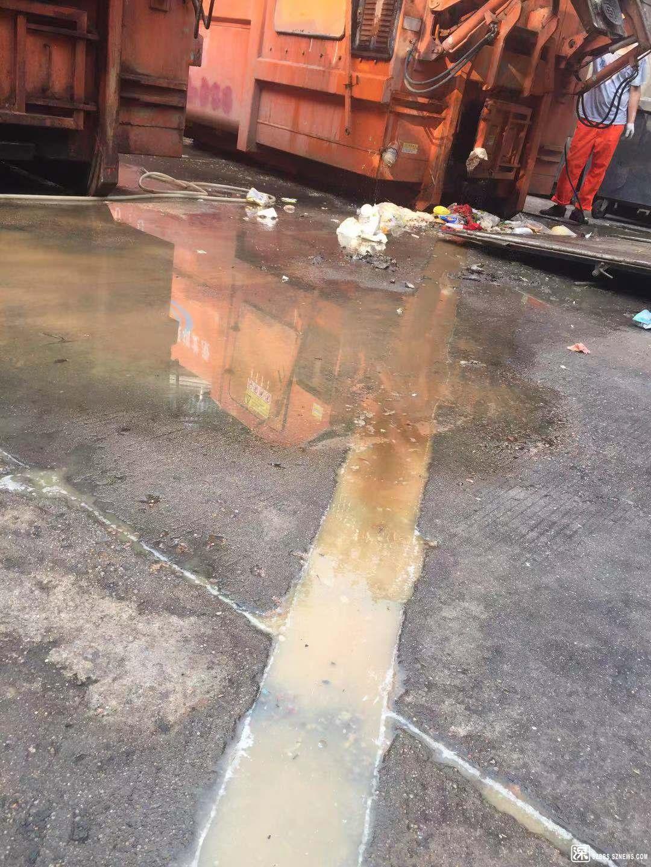 垃圾站污水横流