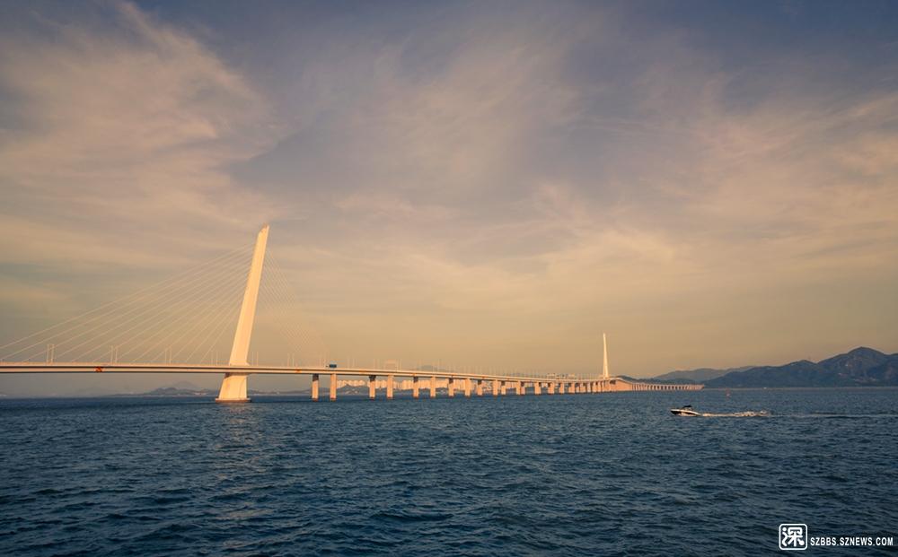 2019年6月16日,第一次到深圳湾