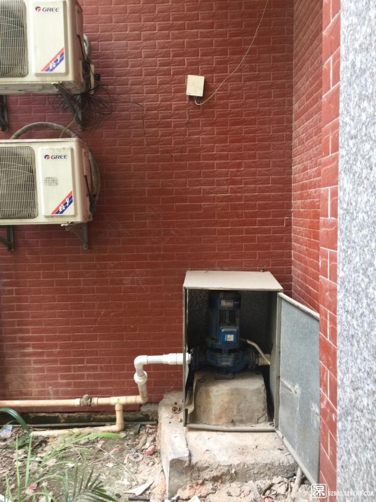 豪亚花园3栋抽水泵