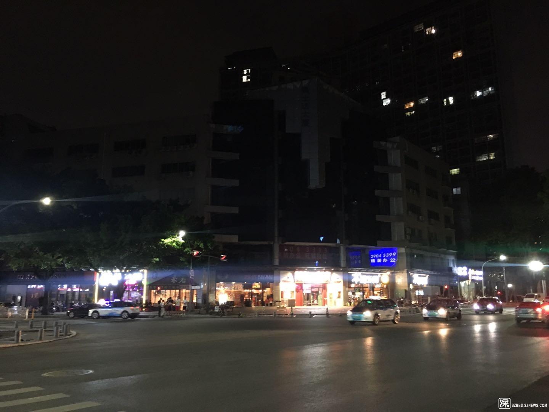梅华路与中康路路口的夜场