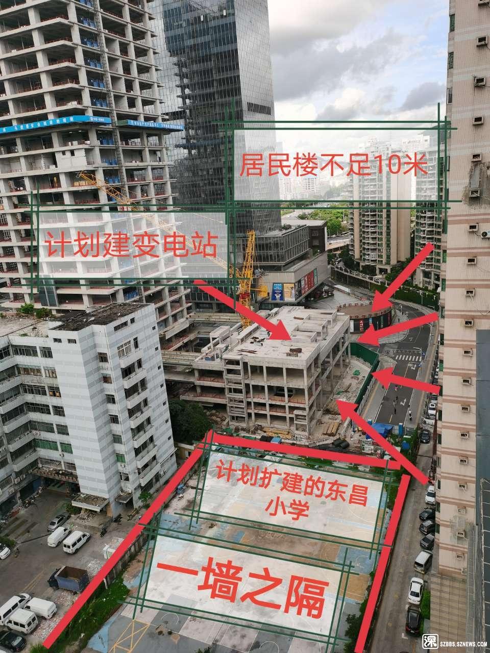 宏康大厦地块建造110KV变电站