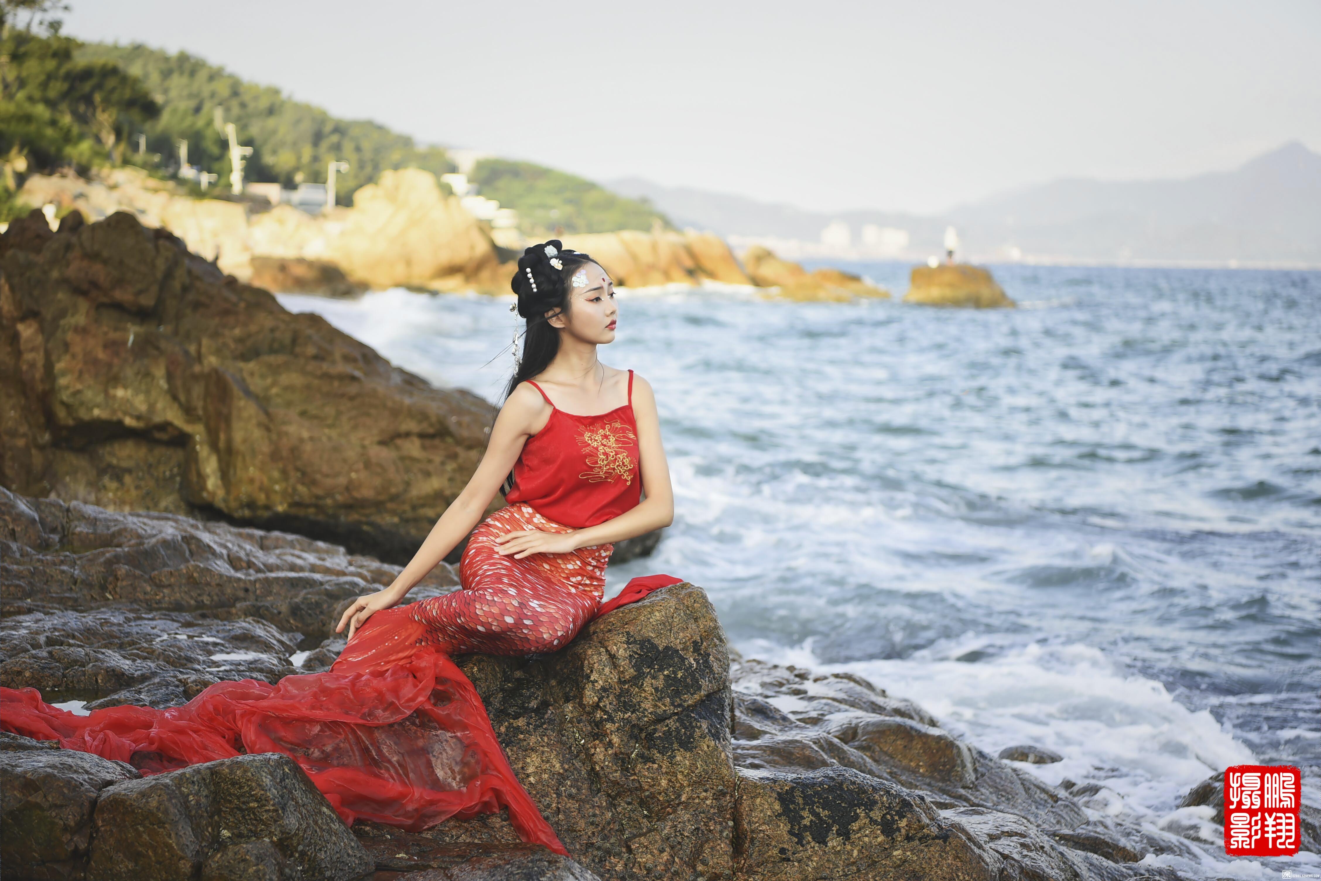 深圳背仔角海边拍摄